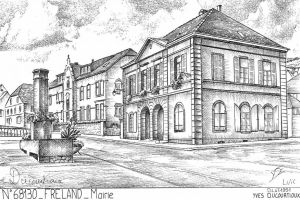 dessin-mairie